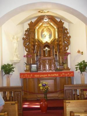 Around the Cor Unum in Patre Shrine