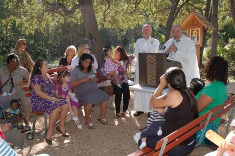 Precious Life Memorial Dedicated at Mount Schoenstatt